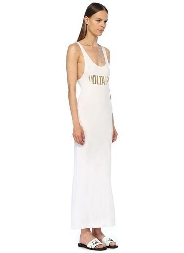 Zadig&Voltaire Plaj Elbisesi Beyaz